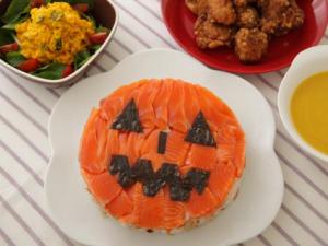 ハロウィンケーキ寿司